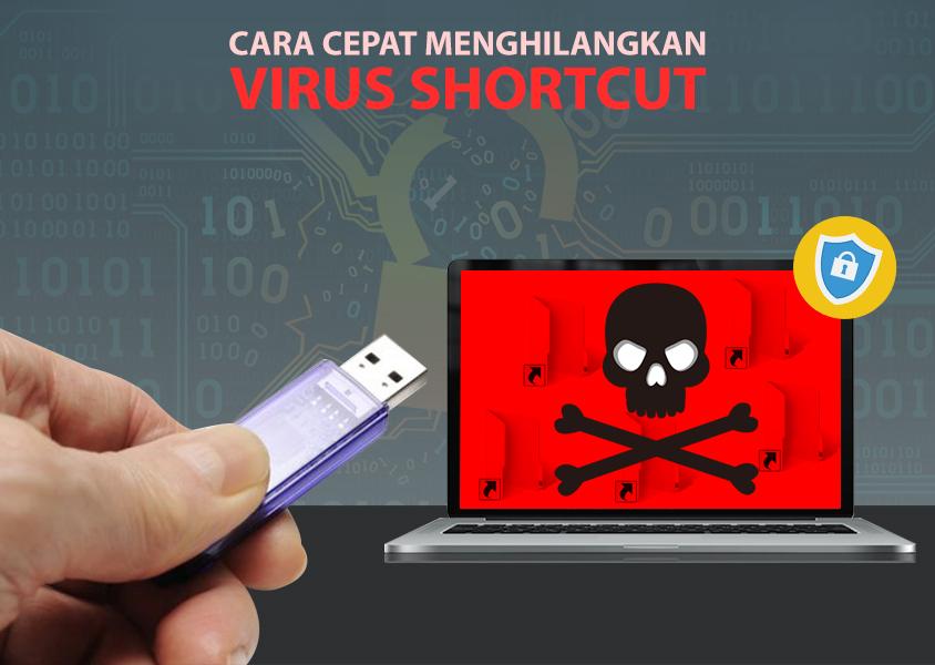 Cara Cepat Menghilangkan Virus Shortcut