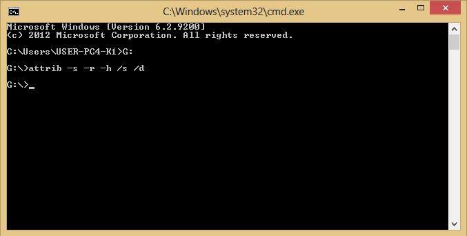 Virus Shortcut Folder