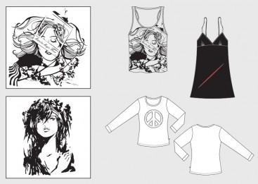 Desain Siluet dan Style Baju