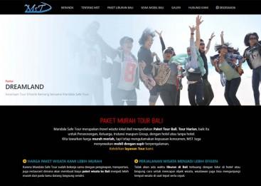 Web Promosi Jasa Tour