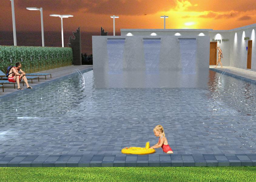 Kursus 3D, Kursus Komputer di Denpasar, Desain Exterior, 3D
