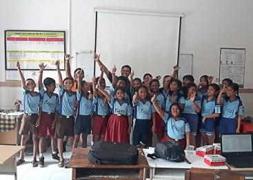 Pelatihan Office, Desa Jagapati, Training Siswa