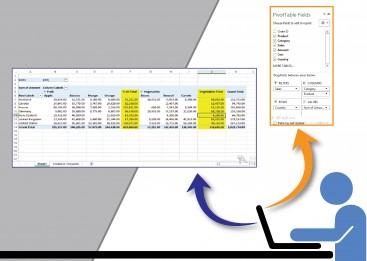 Pelatihan Excel , Training Excel, Pivot Table