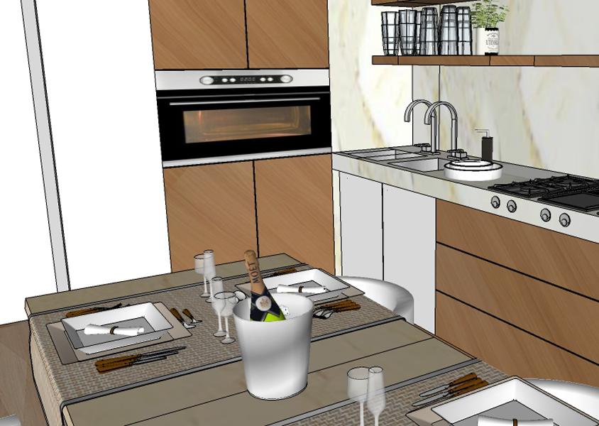 Kursus 3D, Kursus Komputer di Denpasar, desain interior, , 2D