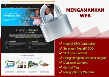Mengamankan Web dari Negatif SEO