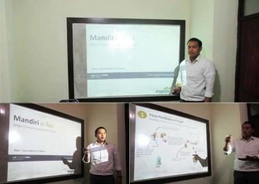 Membuat slide presentasi, Praktek presentasi di depan kelas