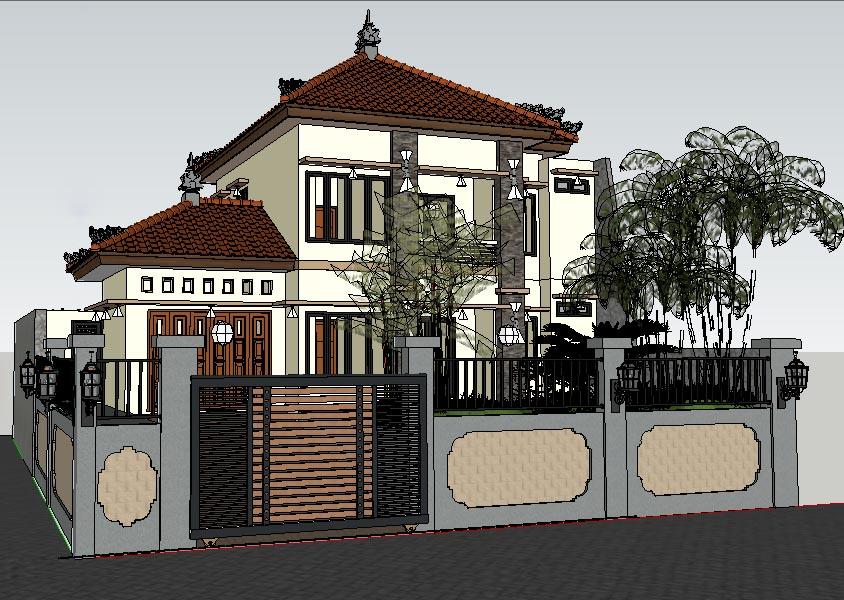 Kursus 3D, Kursus Komputer di Denpasar, desain interior, Desain Exterior, 2D