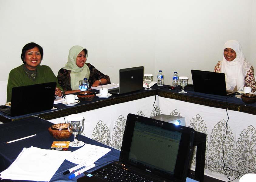 Proses pelaksanaan pelatihan E-filling system