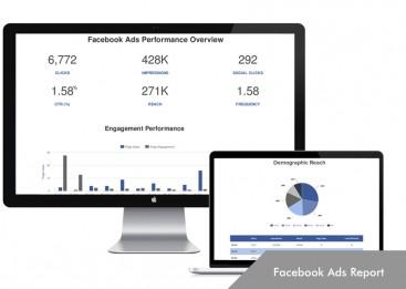 Kursus Internet Marketing, Facebook Ads Report