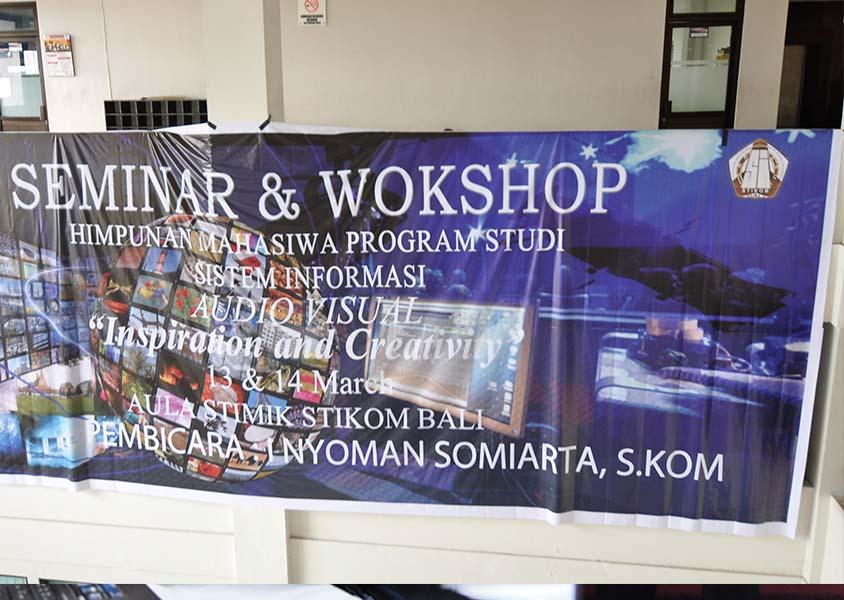 Seminar dan Workshop Audio Visual