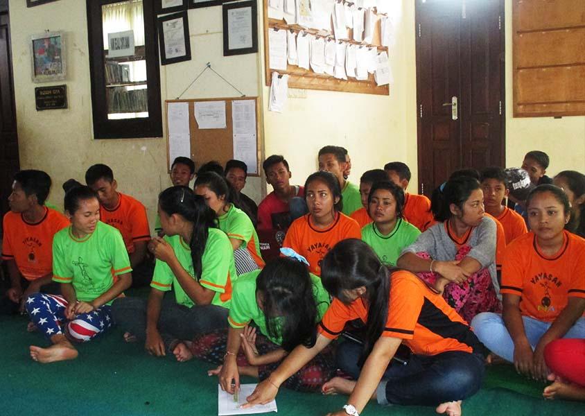 Anak-anak yayasan Anak Indonesia