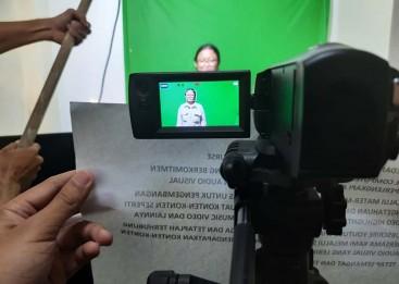 Kursus Editing video dari story line, story board, produksi