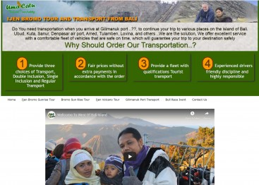 Kursus Internet Marketing di Denpasar, Ijen Bromo Sharing Tour and Transport