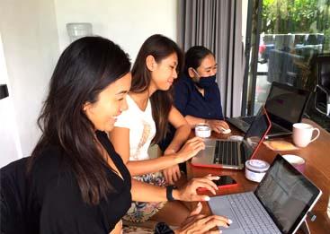 Kursus Privat Komputer Administrasi Perkantoran ke Rumah Debby