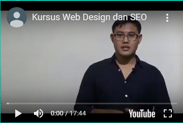 Video Kursus Web Design dan SEO