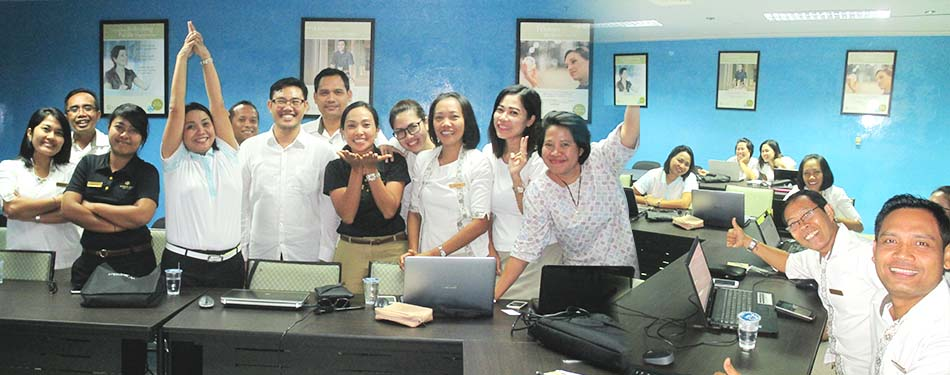 Pelatihan Excel, Training Staf Pan Pacific Resort>